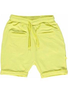 Småfolk - bunte skandinavische Mode gelbe Baby Shorts BIO