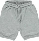 Småfolk - bunte skandinavische Mode graue Baby Shorts BIO uni BIO (GOTS) von Smafolk