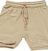 Småfolk - bunte skandinavische Mode beige Baby Shorts BIO uni BIO (GOTS) von Smafolk