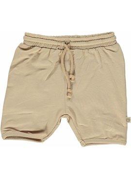 Småfolk - bunte skandinavische Mode beige Baby Shorts BIO