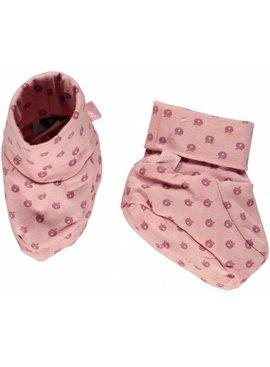 Småfolk - bunte skandinavische Mode rosa Babyschuhe