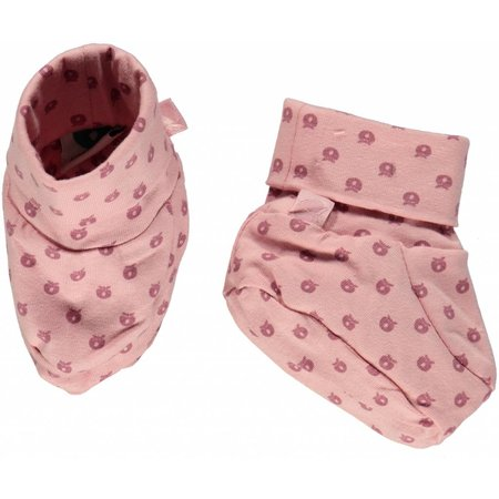 Småfolk - bunte skandinavische Mode rosa Babyschuhe von Smafolk