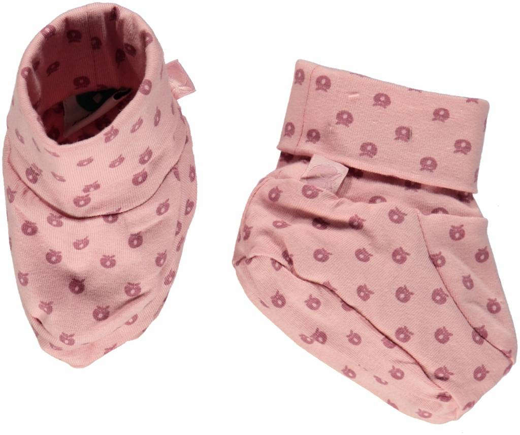 rosa Babyschuhe von Smafolk