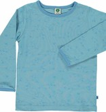Småfolk - bunte skandinavische Mode blaues Langarmshirt von Smafolk