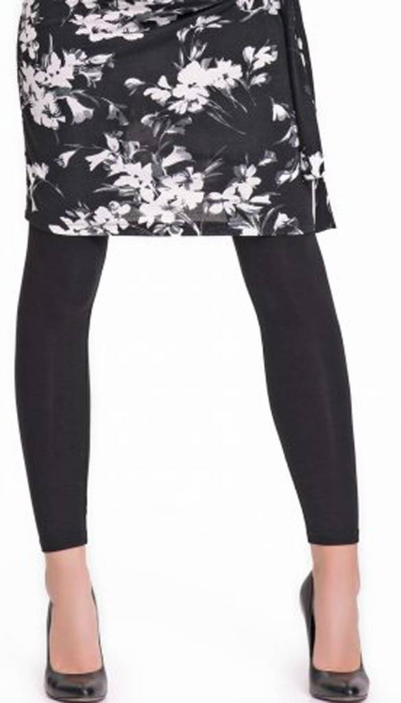 9fashion schwarze lange Umstandsleggings von 9fashion