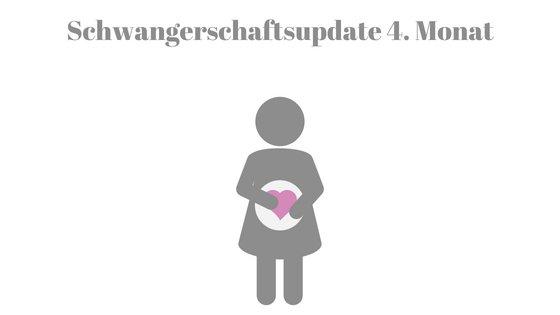 Schwangerschaftsupdate 4. Monat