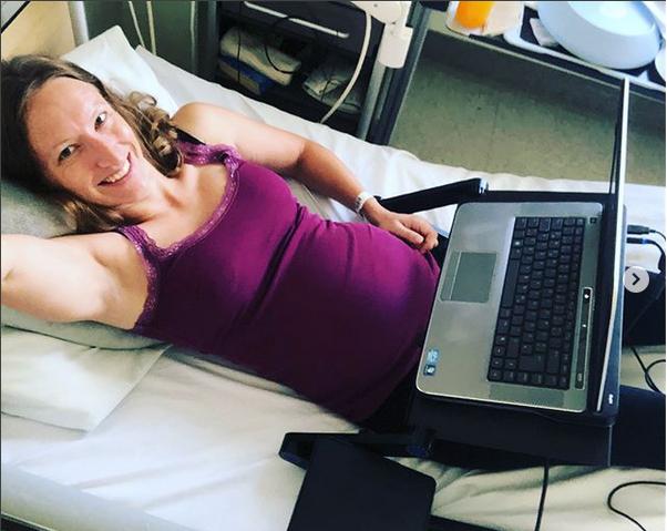 arbeiten schwanger im Krankenhaus
