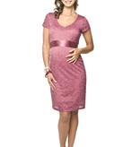 Torelle Umstandskleid Spitze pink von Torelle