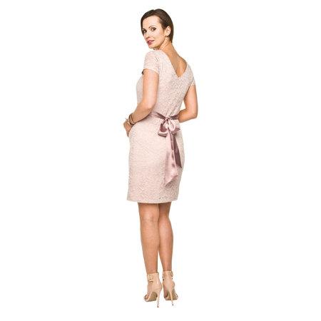 Torelle Umstandskleid Spitze rosa von Torelle