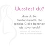 Love2Wait offwhite Umstandsshirt Stillshirt mit Stickerei BIO Tencel® von Love2Wait