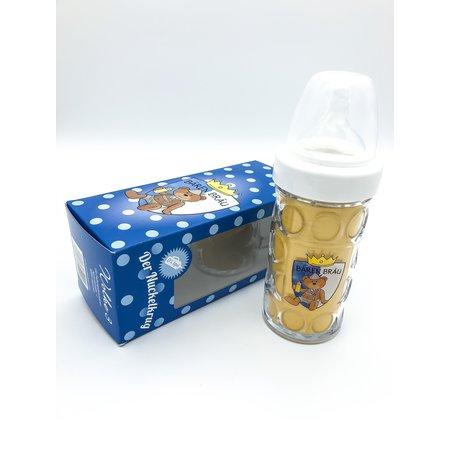 Bierkrug für Babys in blau von Paul der Bär