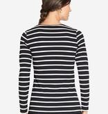 Milker Nursing Umstandsshirt Stillshirt schwarz gestreift Bio von Milker Nursing