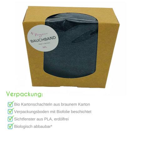 Pregeau Bauchband für die Schwangerschaft oder als Nierenwärmer Made in Germany