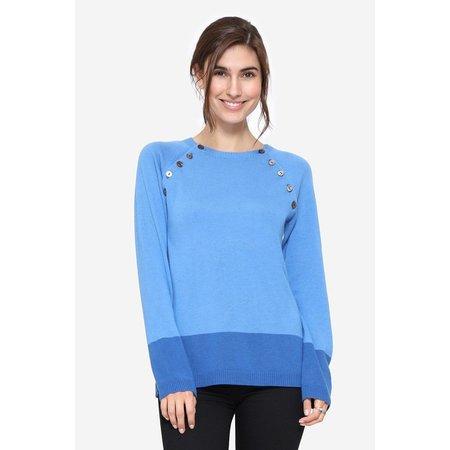 Milker Nursing blauer Stillpulli aus Wolle von Milker Nursing