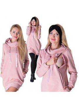 Umstandssweatshirt Stillsweatshirt rosa