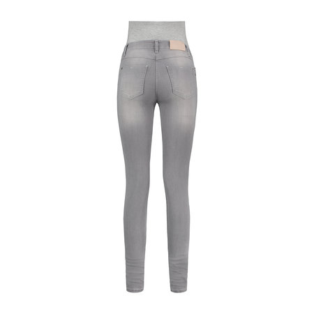 Love2Wait Graue Umstandsjeans Skinny Öko-Tex von Love2Wait