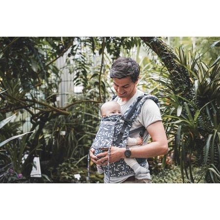 Limas - Babytrage Limas Flex Motiv Flora Cool Grey