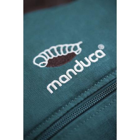 Manduca Babytrage - das Original Manduca FIRST Hanf/Baumwolle petrol