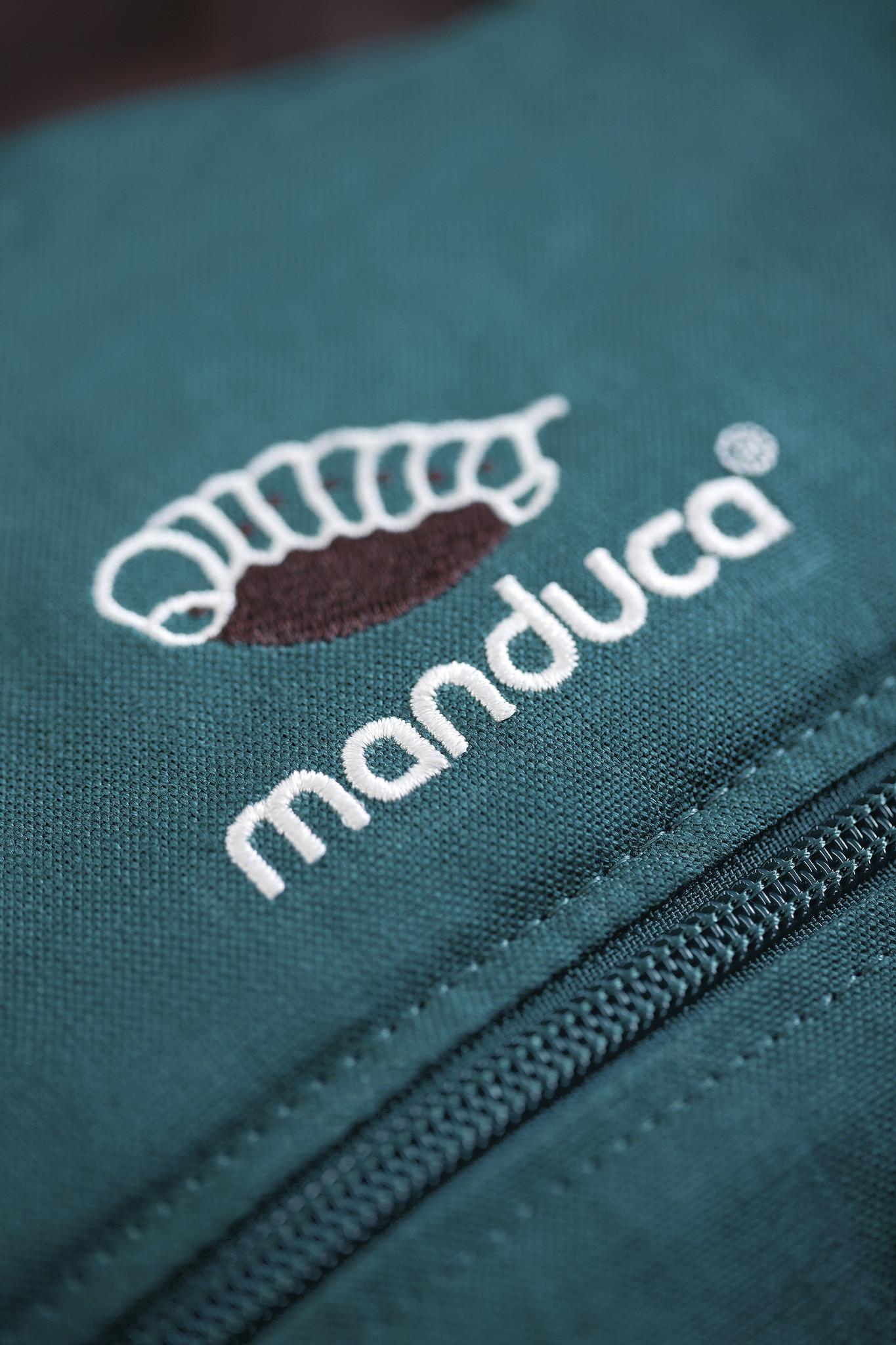 Manduca Manduca FIRST Hanf/Baumwolle petrol