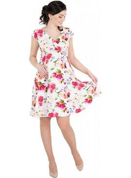 Victoria Grace Umstandskleid Stillkleid floral