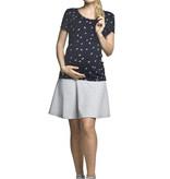 Torelle kurzärmliges Umstandsshirt Stillshirt Quadrat  von Torelle