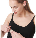 Esprit maternity Still-Top schwarz aus Bio Baumwolle von Esprit