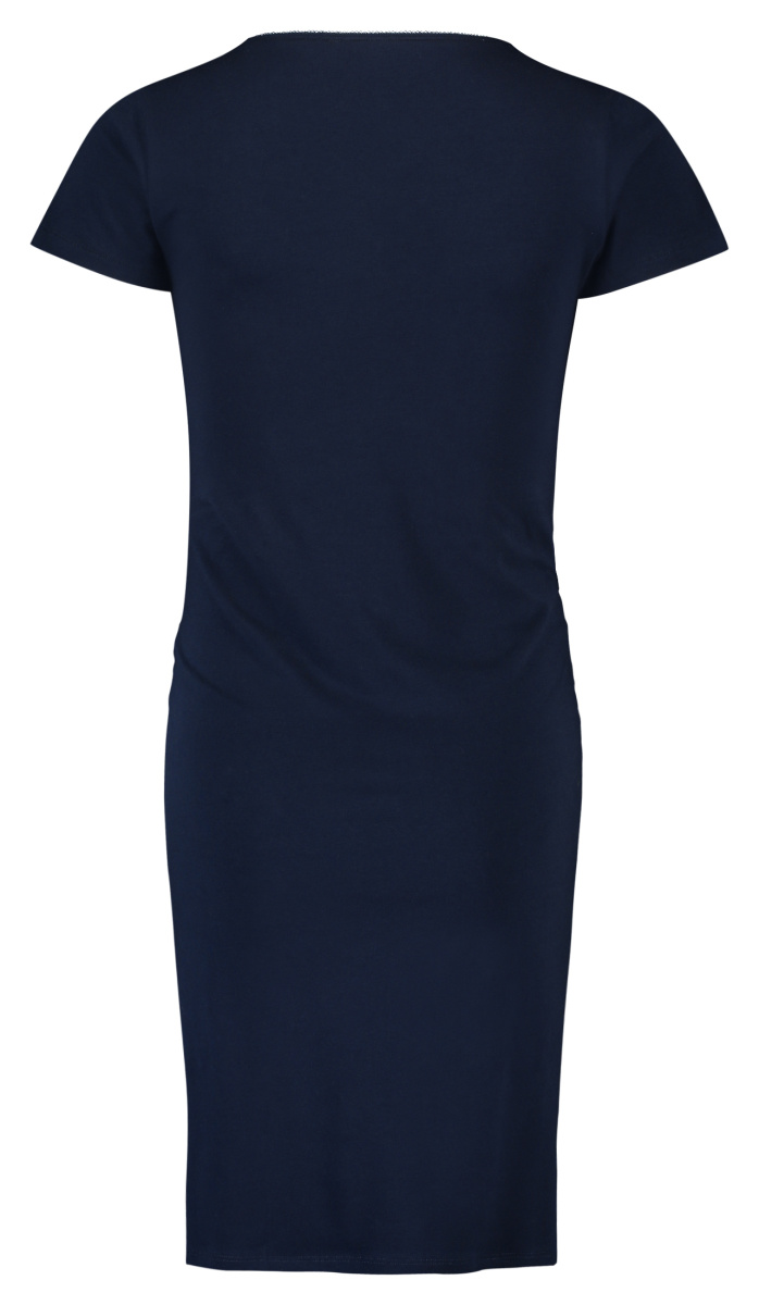 noppies dunkelblaues Nachthemd für Schwangere und Stillende Bio Baumwolle GOTS von Noppies
