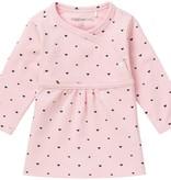 noppies Babykleidchen mit Herzchen in rosa GOTS Bio Baumwolle von Noppies