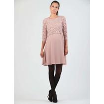 Umstandskleid Stillkleid Spitze rosa