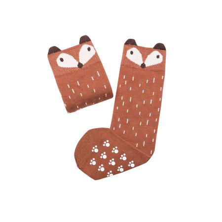 Mamas Feet Stoppersocken Fuchs braun von Mamas Feet