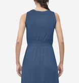 Milker Nursing blaues Stillkleid Umstandskleid aus Bambus von Milker Nursing