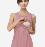 Milker Nursing rosa Stillkleid Umstandskleid aus Bambus von Milker Nursing