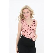 rosa Umstandsshirt Stillshirt Tanktop