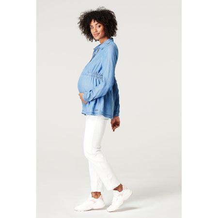 Esprit maternity Umstandsbluse mit Stillfunktion Tencel von Esprit