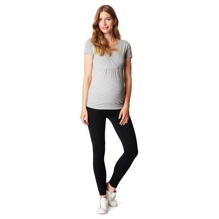 Esprit maternity Blickdichte Umstandsleggings in schwarz aus Bio Baumwolle von Esprit