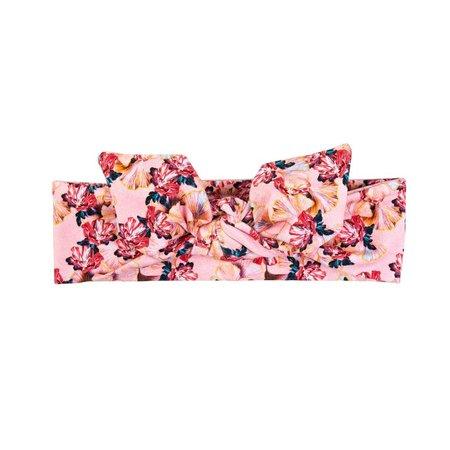 ul&ka Haarband rosa mit Ginkgo von Ul&ka