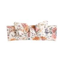 Haarband beige mit Sommerblumen