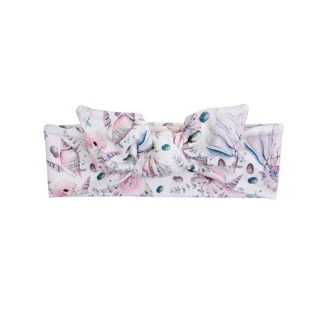 ul&ka Haarband rosa mit Muscheln von Ul&ka