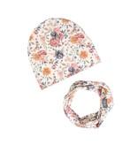 ul&ka Mütze Halstuch Set Sommerblumen von Ul&ka