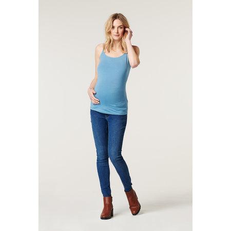 Esprit maternity Still-Top Shadow Blau aus Bio Baumwolle von Esprit