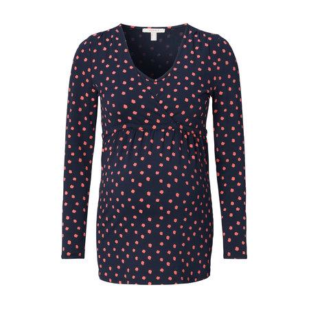 Esprit Umstandsshirt Stillshirt navy rosa Flecken von Esprit