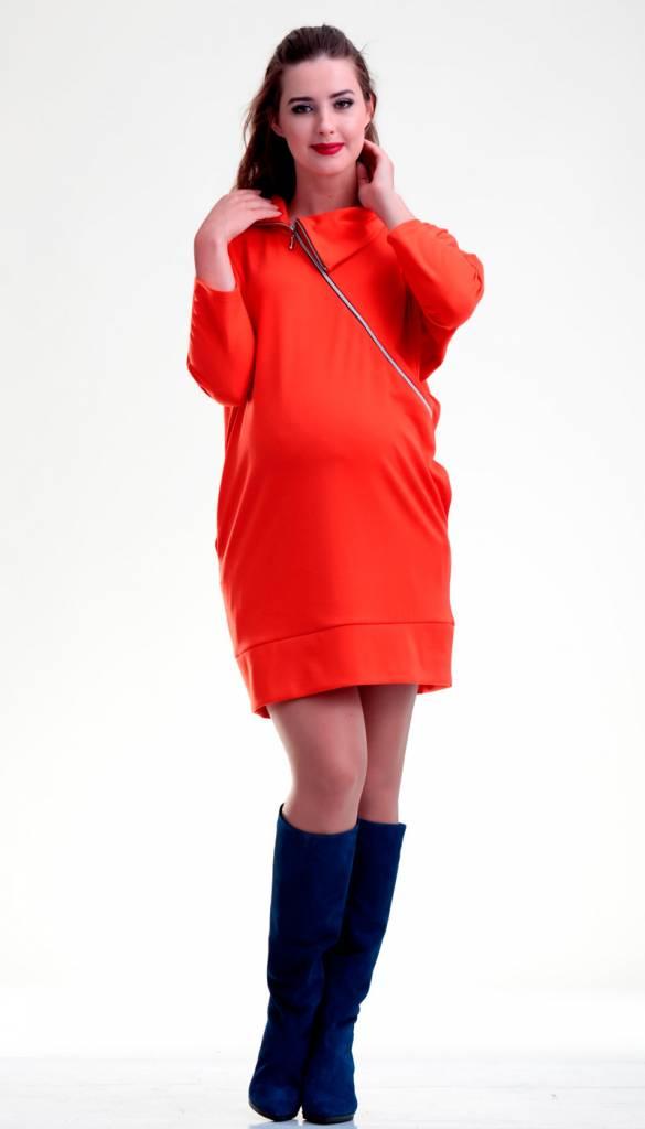 mamaija  Umstandspullover - Stillpullover rot von mamaija