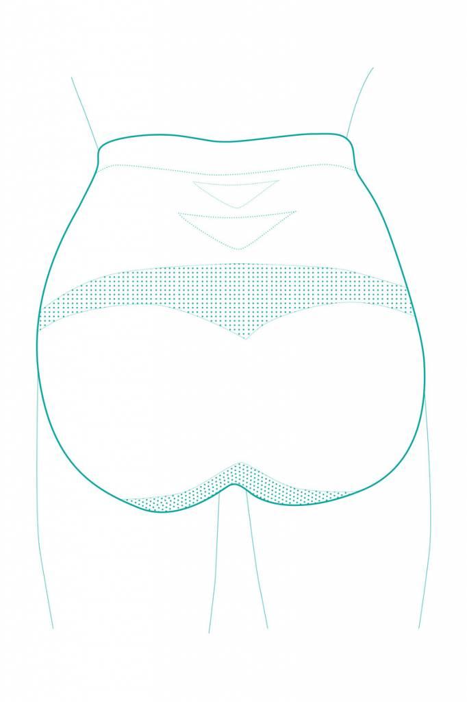 Milker Nursing Schwangerschaftsslip schwarz aus Bambusfaser von Milker Nursing