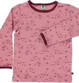 Småfolk - bunte skandinavische Mode rosa Langarmshirt von Smafolk
