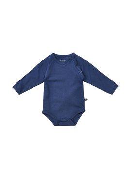 Minymo - organic cotton blauer Body - BIO