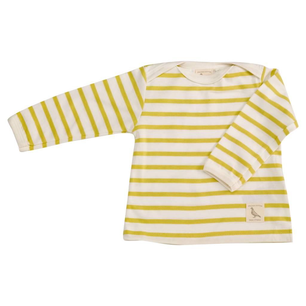 Pigeon organic - beautiful ethical gelb-gestreiftes Shirt - BIO von Pigeon Organics