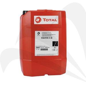 Total Hydraulische detergerende minerale olie EQUIVIS D 46