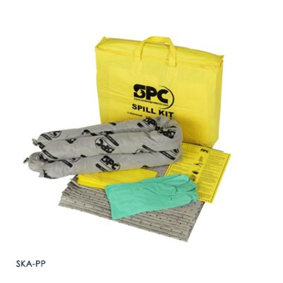 Economy spill kit draagtas met handvat uit duurzaam PVC materiaal SKO-PP / SKH-PP / SKA-PP