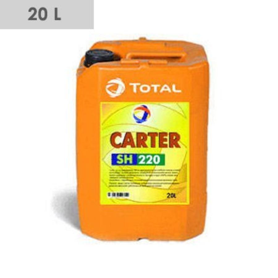 CARTER SH Synthetische (pao) smeerolie voor tandwielkasten