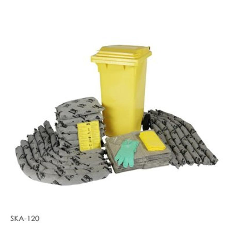Mobiele container kit voor middelgrote lekkages SKO-120 / SKA-120 / SKH-120 / SKO-240 / SKA-240 / SKH-240